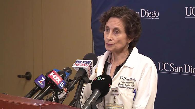 UCSD Health Center's Dr RandyTaplitz
