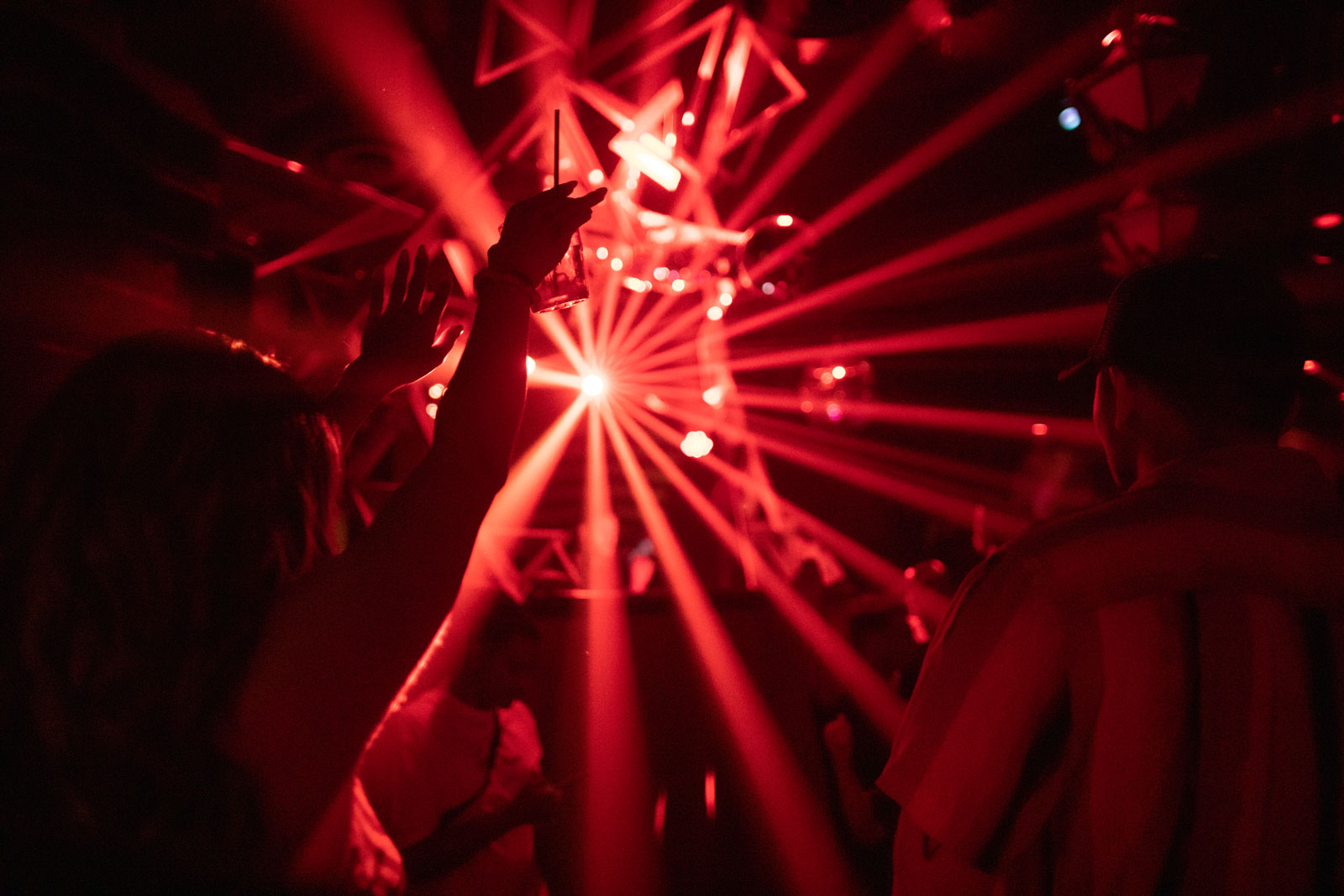 A scene at Sound Nightclub in Los Angeles, California on June 19, following 15 months of total shutdown.