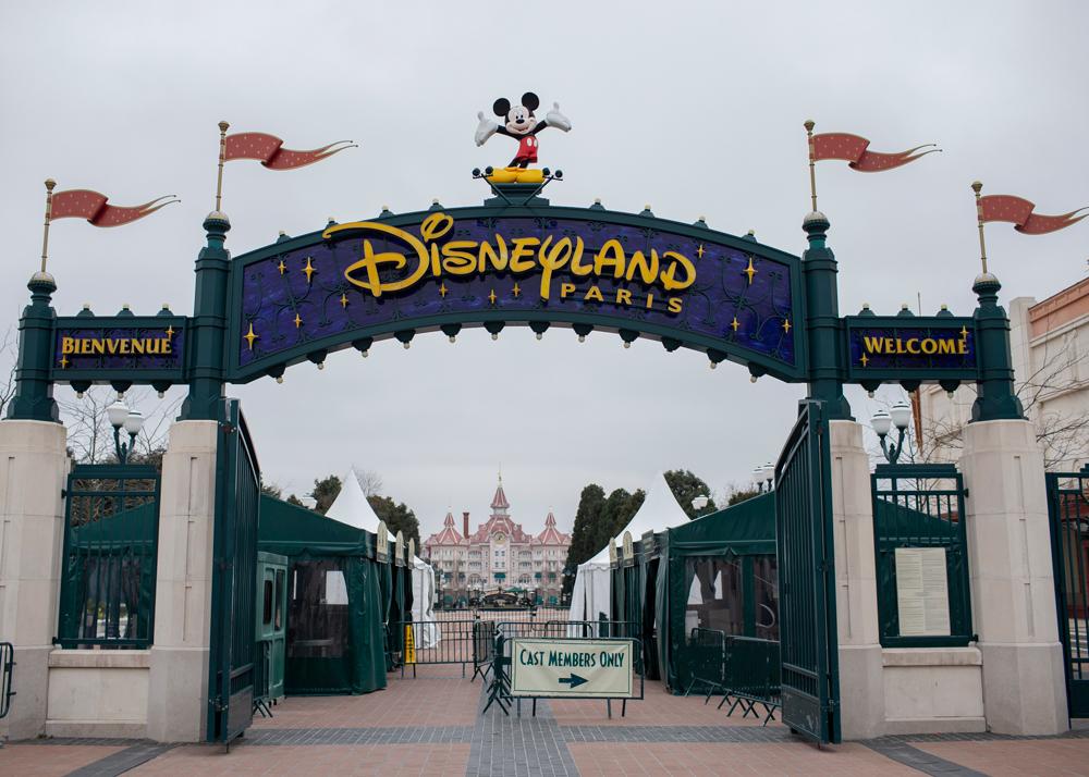 In this Monday, March 16 photo, Disneyland Paris