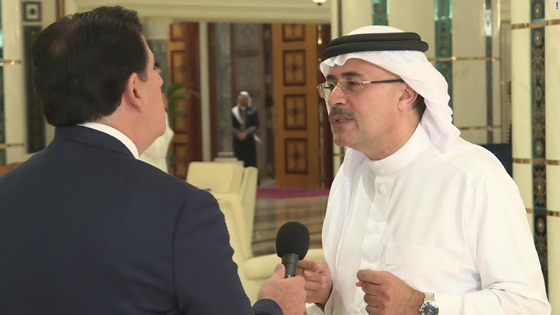 Saudi Aramaco CEO Amin Nasser