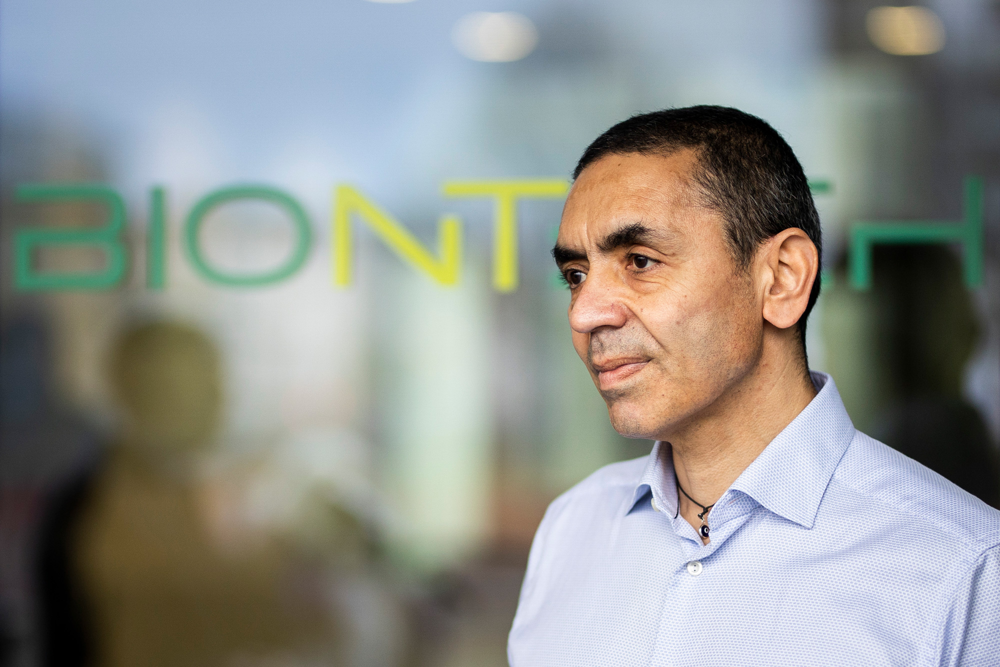 Ugur Sahin, CEO of Biontech, is pictured on December 4, 2020 in Mainz, Germany.