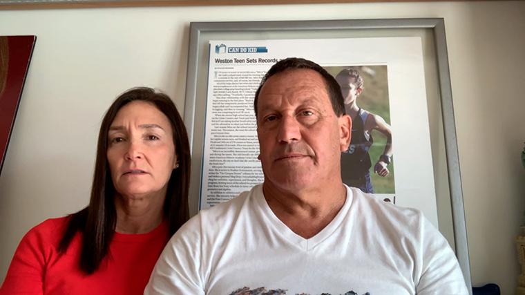 Ronit Felszer and Carlos Naibryf