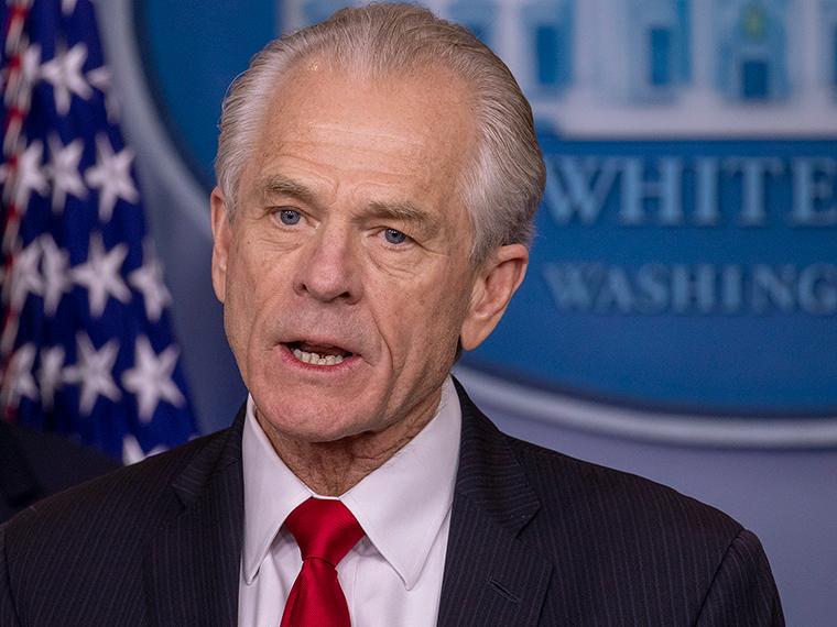 White House trade adviser Peter Navarro