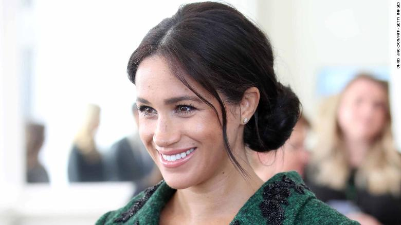 Meghan, Duchess of Sussex, is in labor, Buckingham Palace said Monday.
