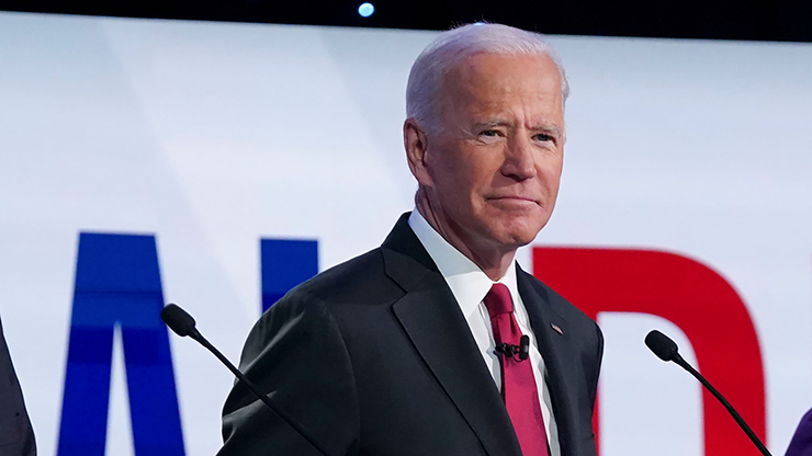 "Image result for Biden Claims Trump is ""Most Corrupt in Modern History"" at Tonight's Debate"