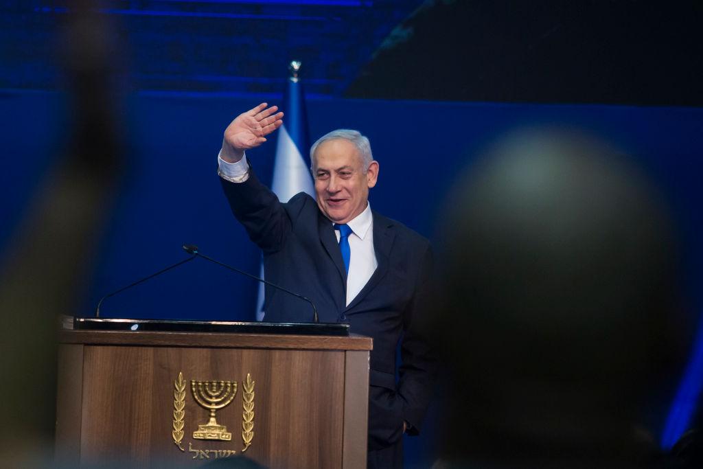 Israeli Prime Minister Benjamin Netanyahu in Tel Aviv, Israel, on March 3.