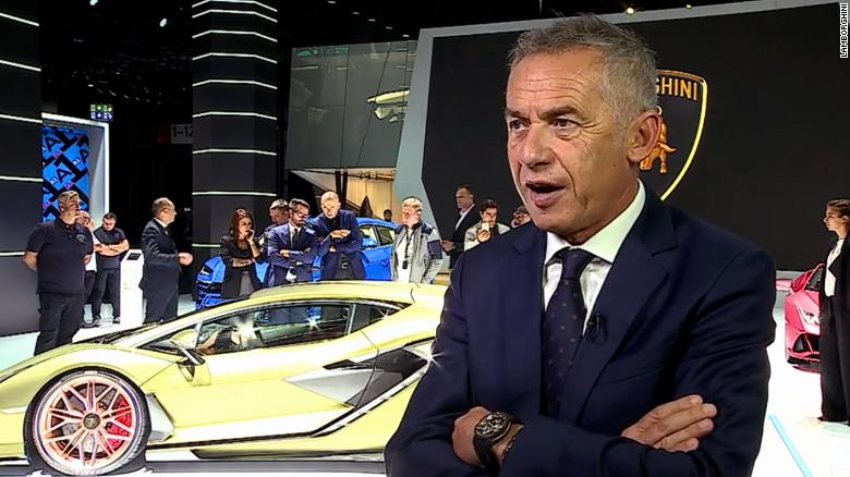 Maurizio Reggiani, Lamborghini's technology chief, says batteries and supercars don't mix.