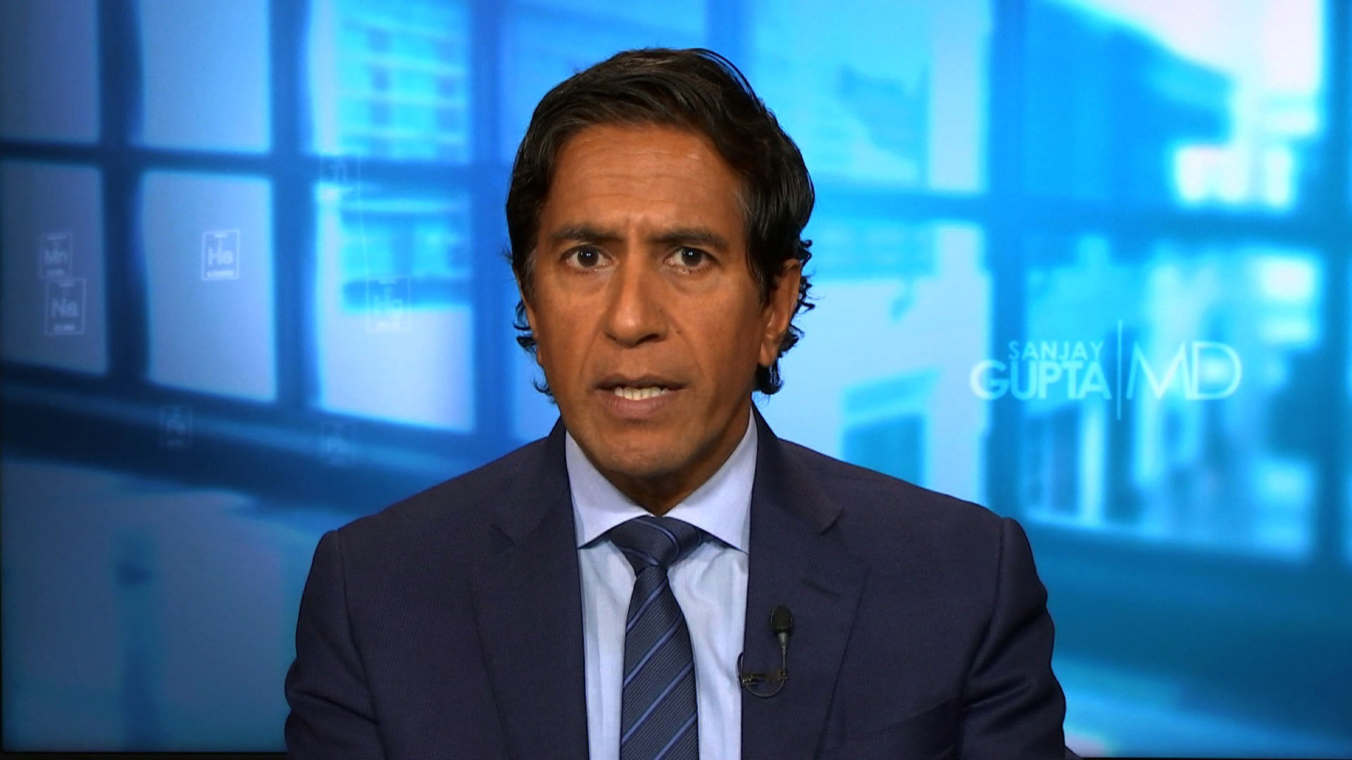 """CNN's Dr. Sanjay Gupta speaks on """"New Day"""" on Tuesday, August 11."""