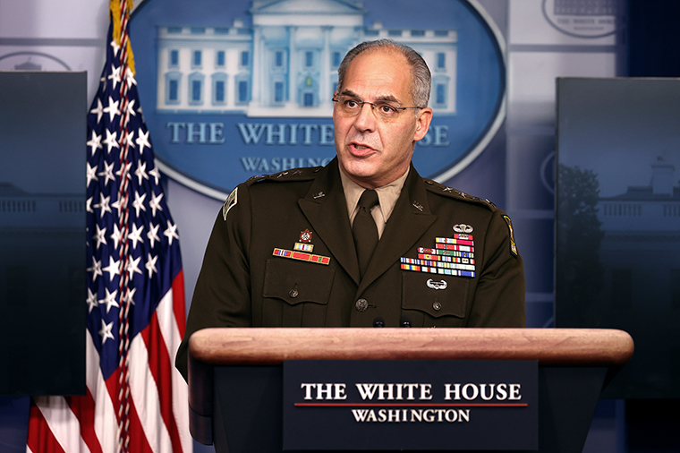 General Gustave Perna, chief operating officer for the Defense Department's Project Warp Speed
