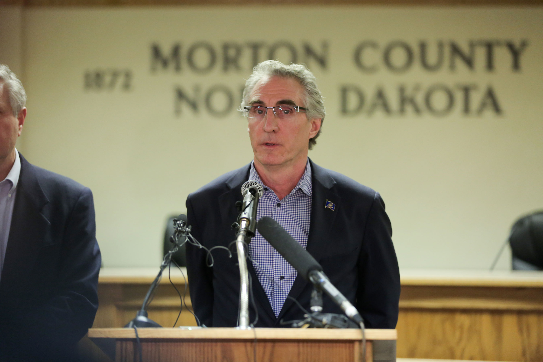 North Dakota Gov. Doug Burgum in 2017.