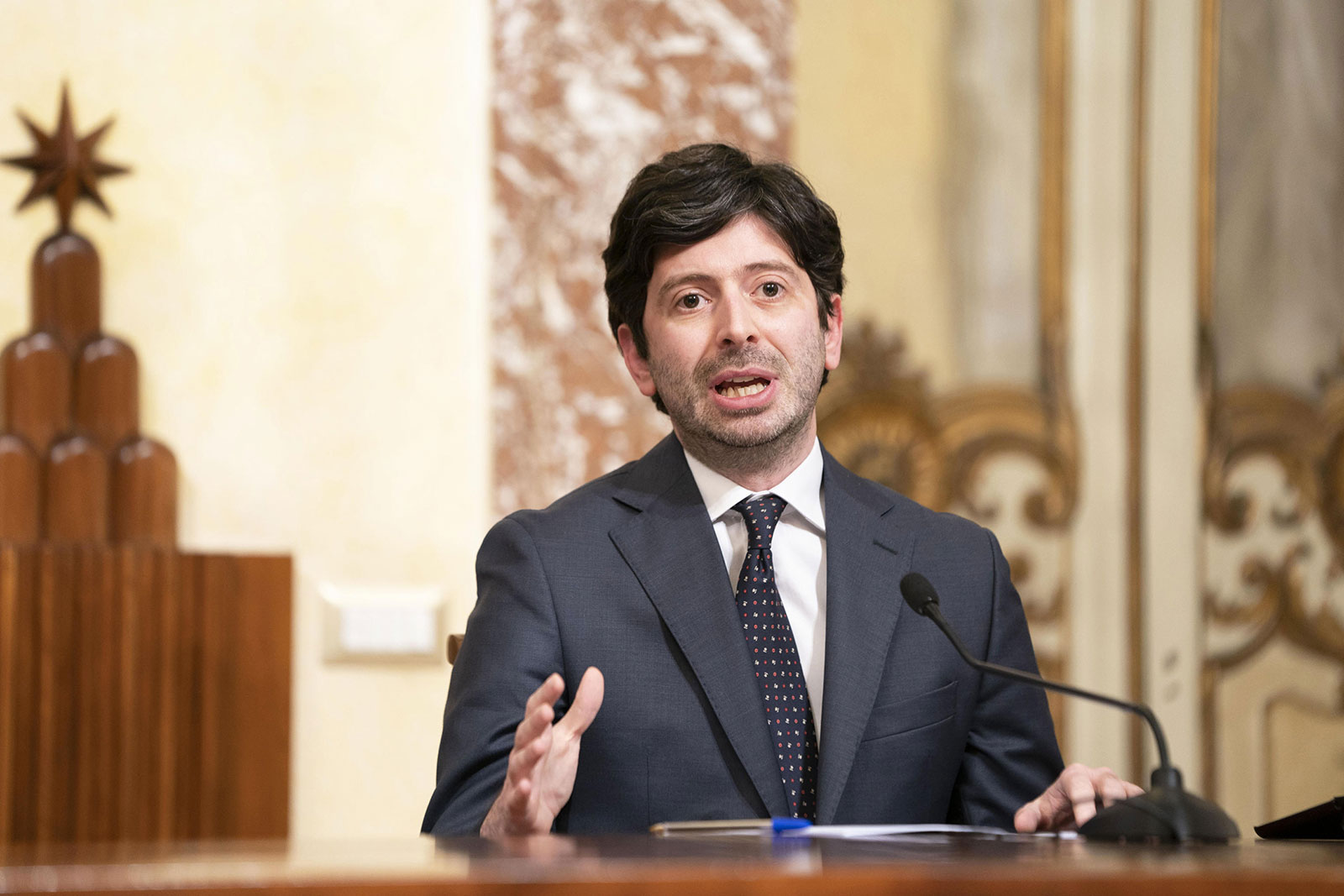 Italian Health Minister Roberto Speranza says the country's economy and society need to reopen after 10 weeks of confinement.