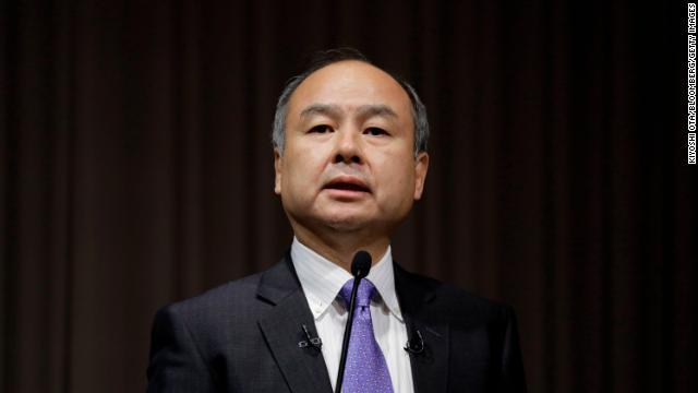 SoftBank's Masa Son
