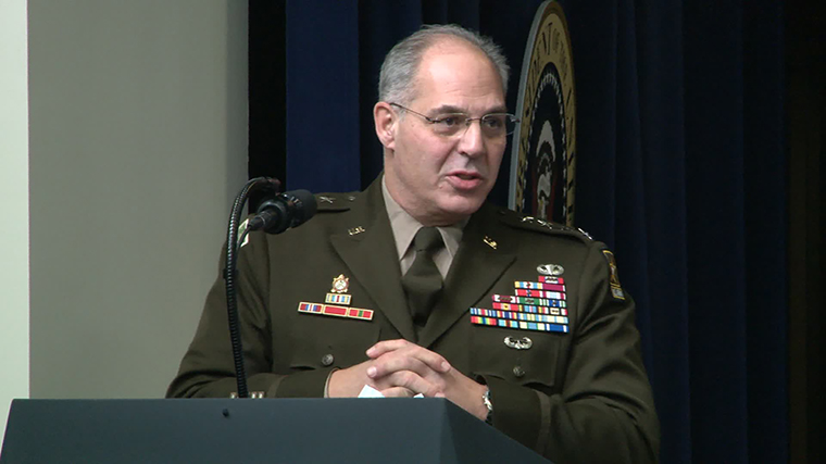 Gen. Gustave Perna, chief operating officer of Operation Warp Speed
