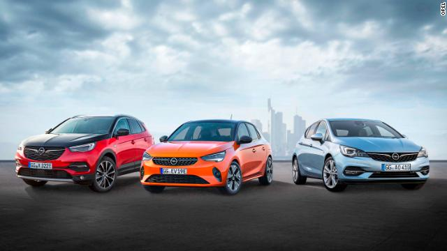 Opel unveiled new gas and electric versions of the Corsa, as well as a new hybrid.