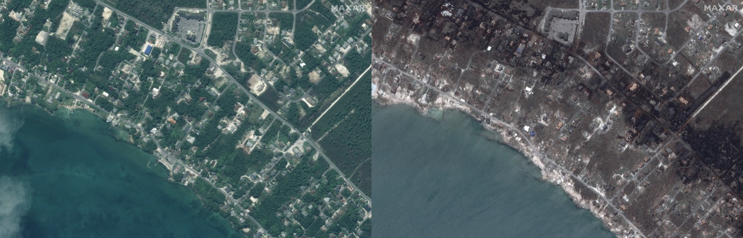Satellite image ©2019 Maxar Technologies