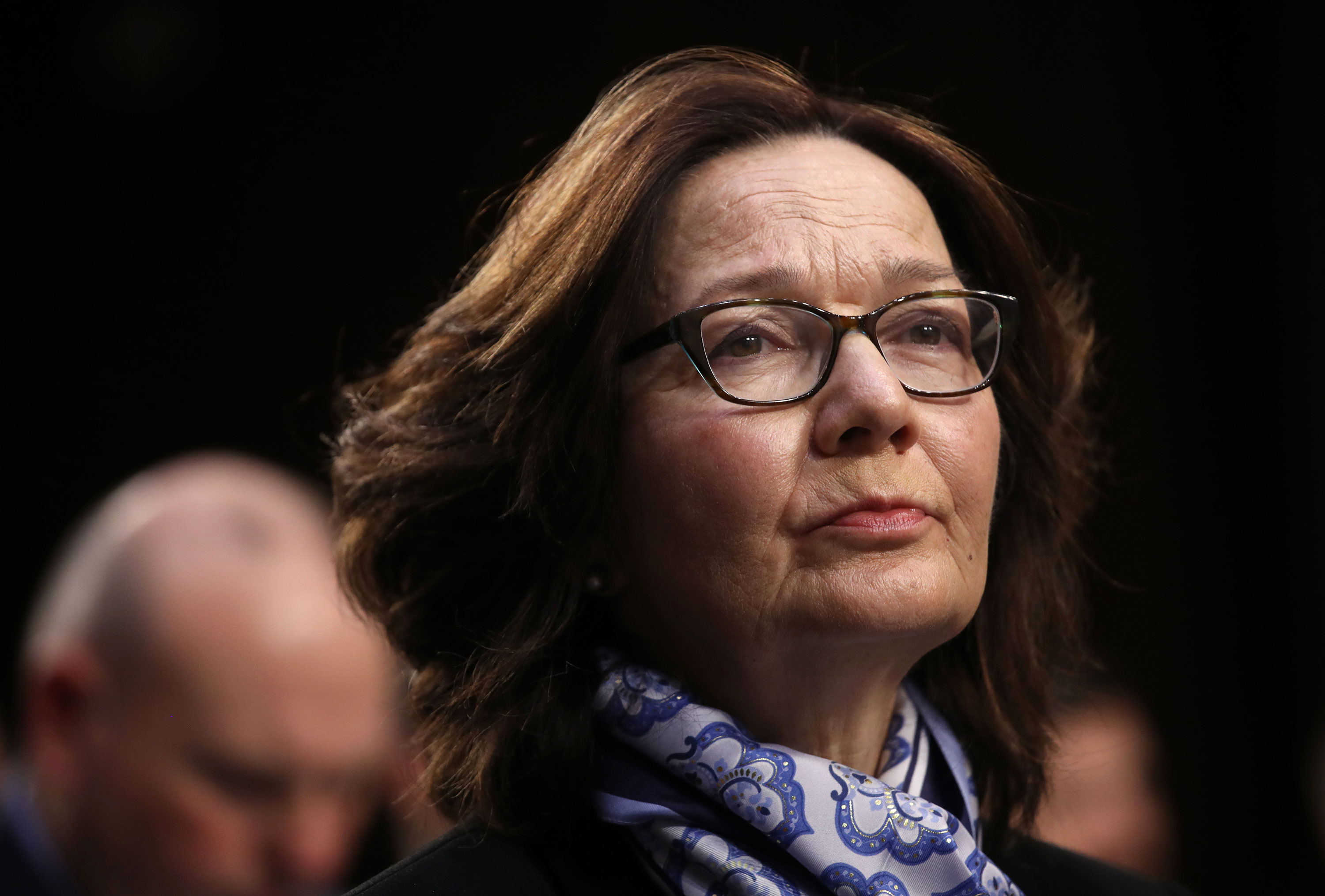 CIA director Gina Haspel arrives for a Senate Intelligence Committee hearing on January 29, 2019 in Washington DC.