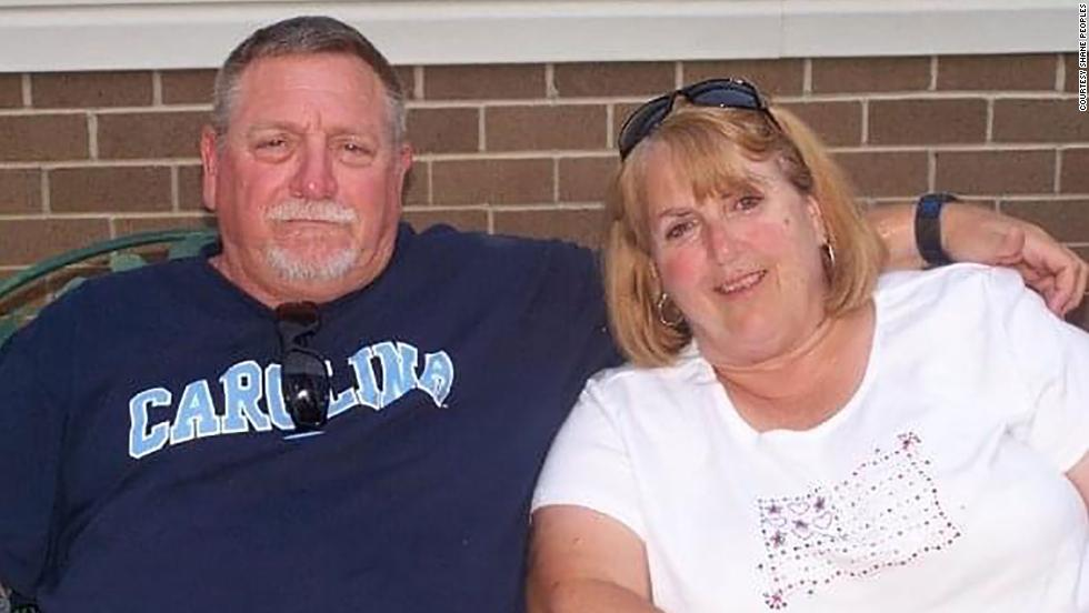 """Johnny Lee Peoples and his wife, Cathy """"Darlene"""" Peoples, had been together for 50 years."""