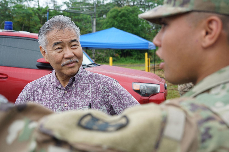 Hawaiia Gov. David Ige in 2018
