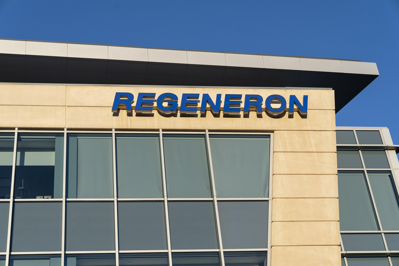 Regeneron Pharmaceuticals corporate headquarters.