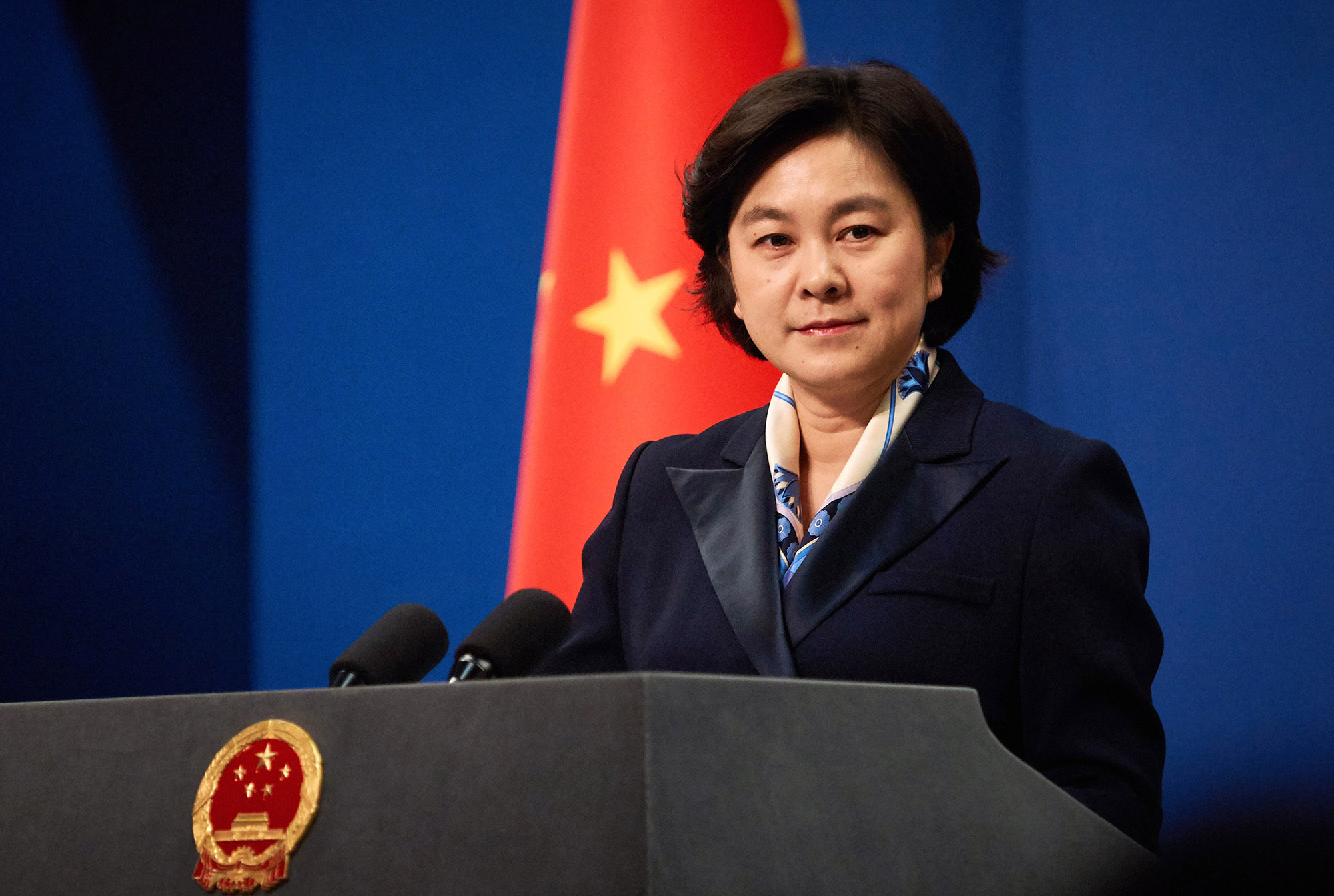 China's Ministry of Foreign Affairs spokesperson Hua Chunying