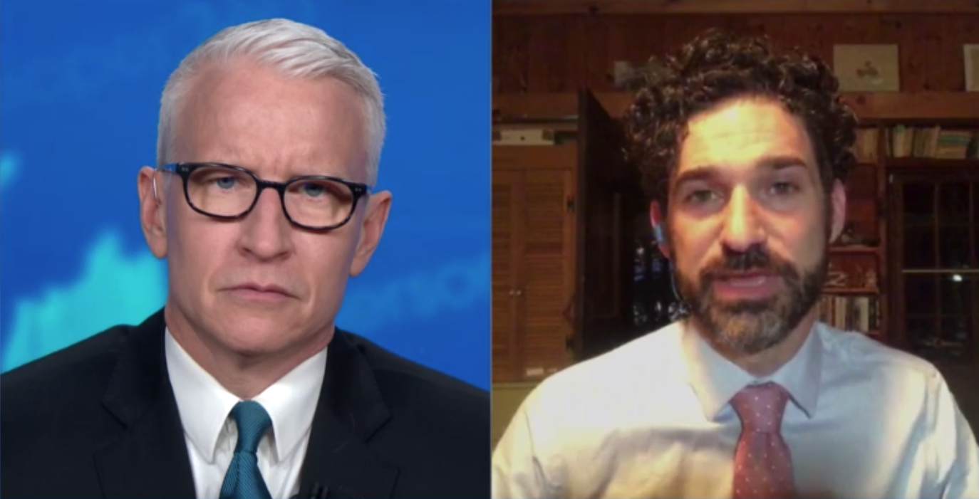 Dr. Craig Spencer speaks with CNN's Anderson Cooper on Friday, June 19.