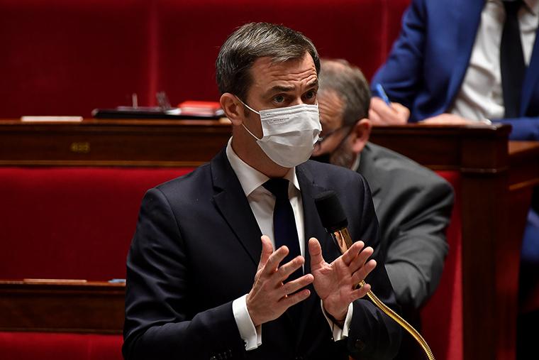 Health Minister Olivier Véran