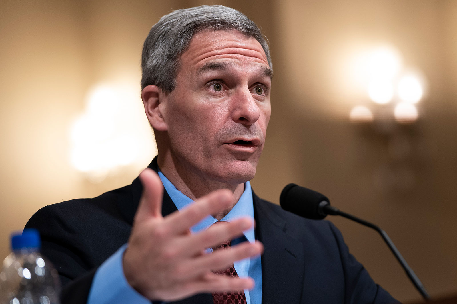 Ken Cuccinelli testifies during a House Committee on Homeland Security hearing on March 11.