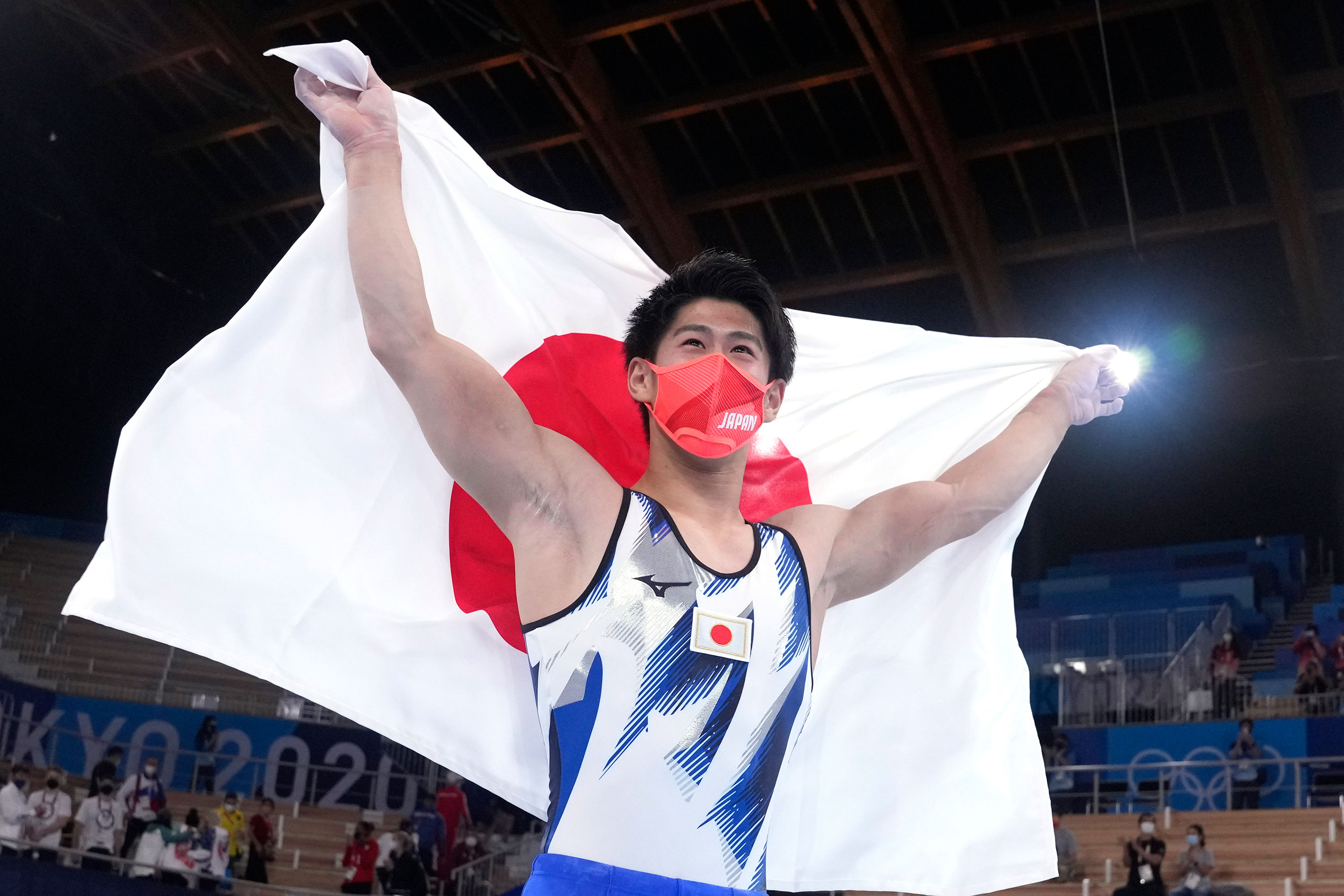 Japanese gold medalists face Chinese nationalist wrath