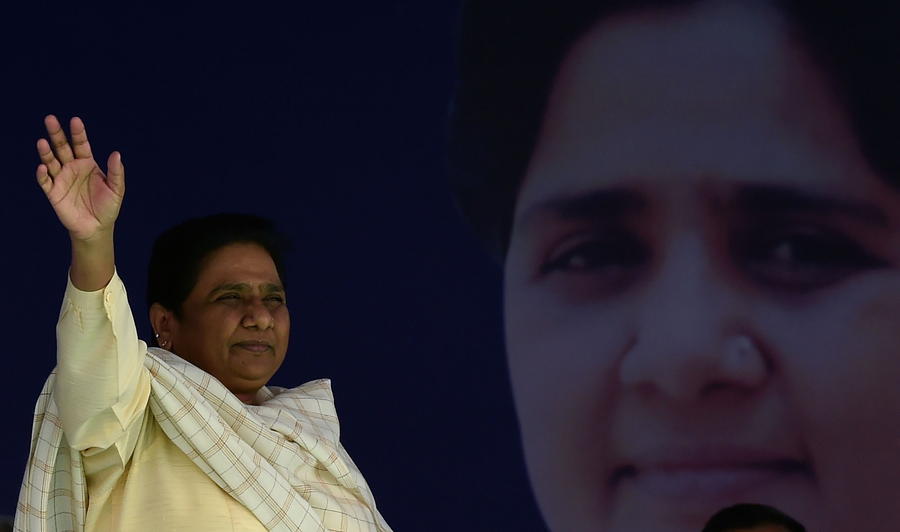 Bahujan Samaj Party leader Mayawati was banned from campaigning for 48 hours after breaking electoral rules that prohibit appealing to voters on the basis of religion.