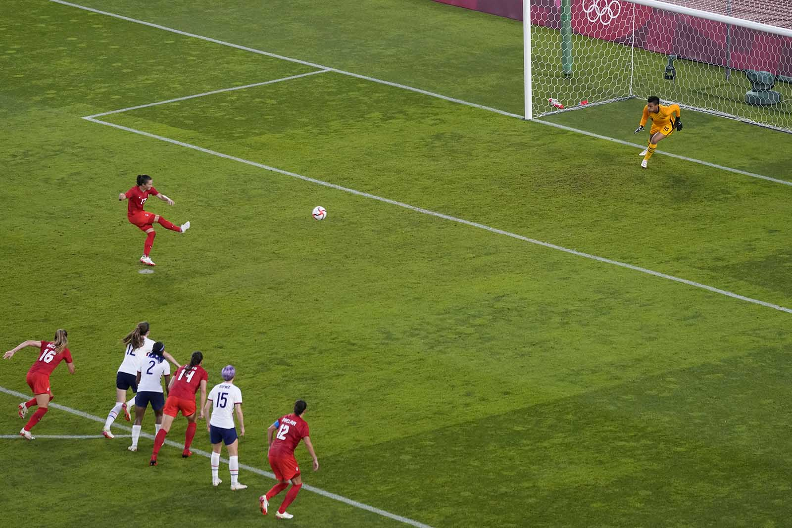 The US women's soccer team misses out on gold after semifinal loss