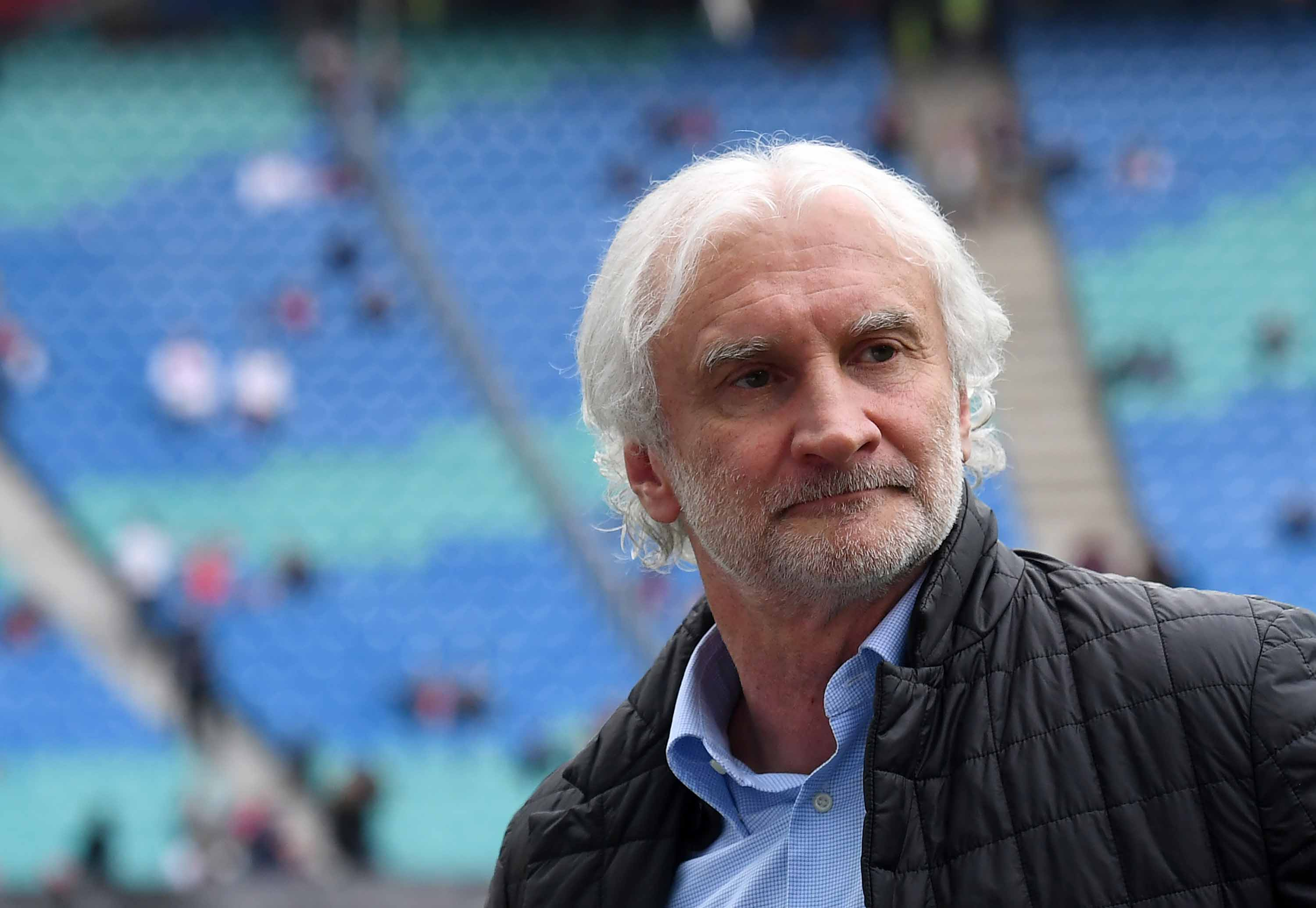 Rudi Völler pictured at the Red Bull Arena in Leipzig, Germany, in April 2017.