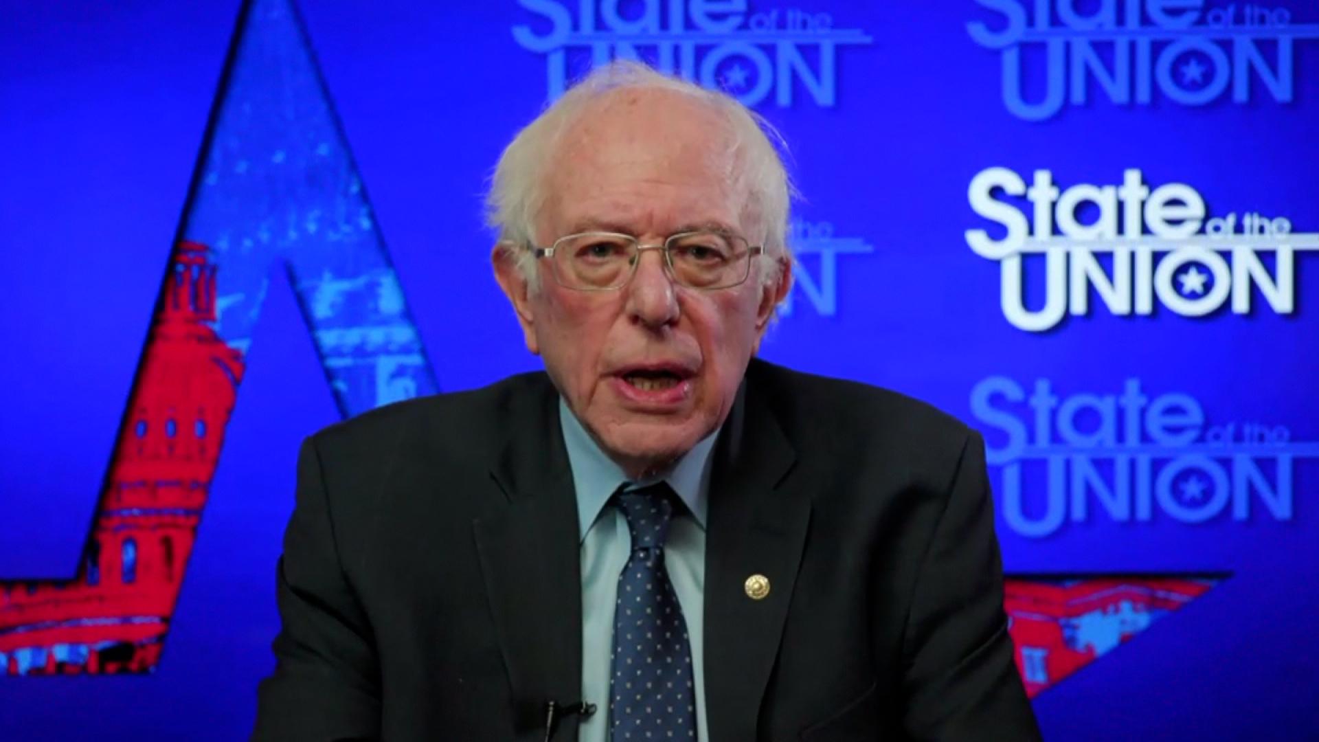 Sen. Bernie Sanders on February 7.