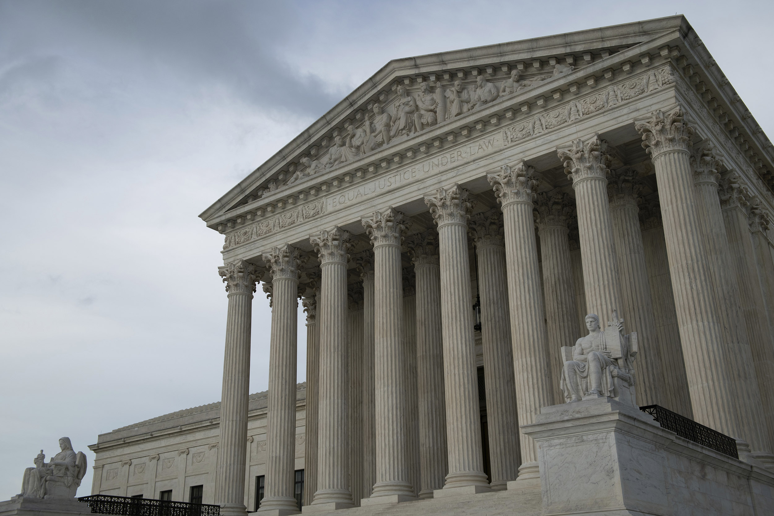 The United States Supreme Court in Washington, D.C., on May 28.