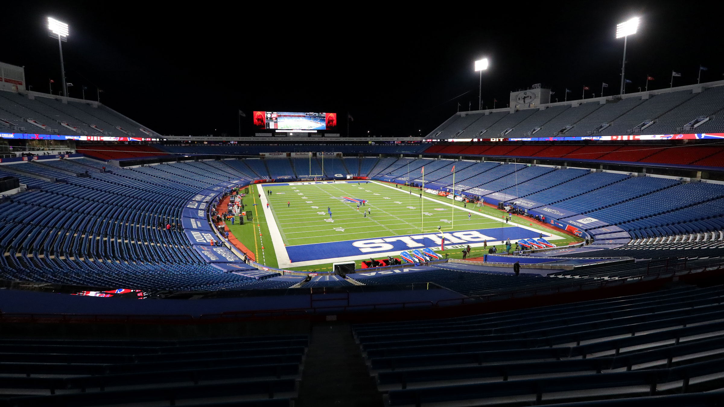 Bills Stadium is seen before a game on December 13.
