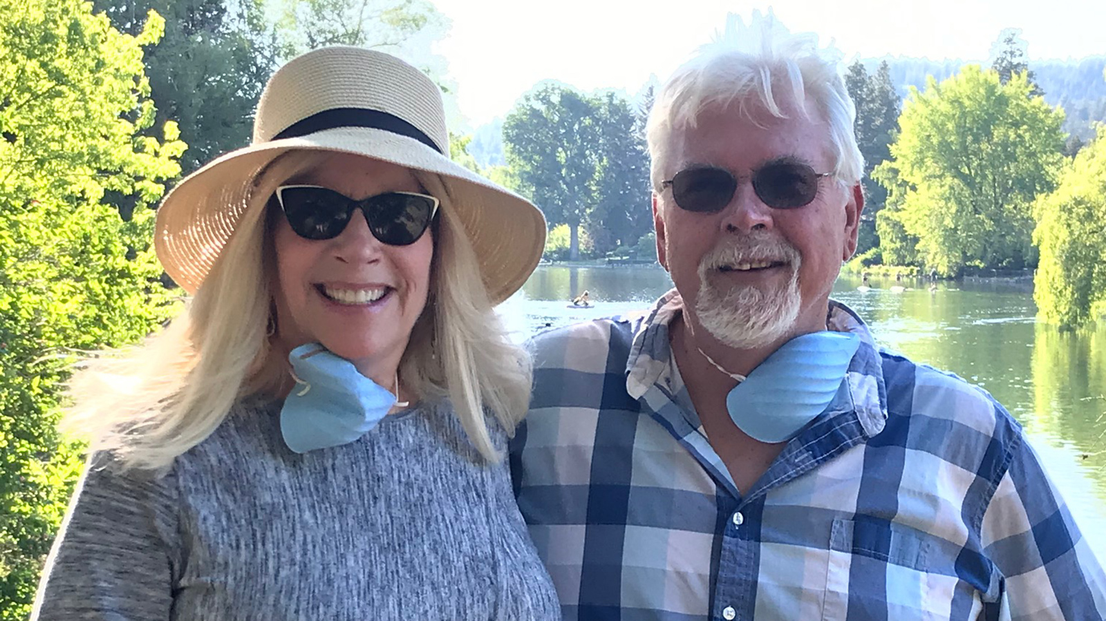 Susan Colvin and Randy Black.