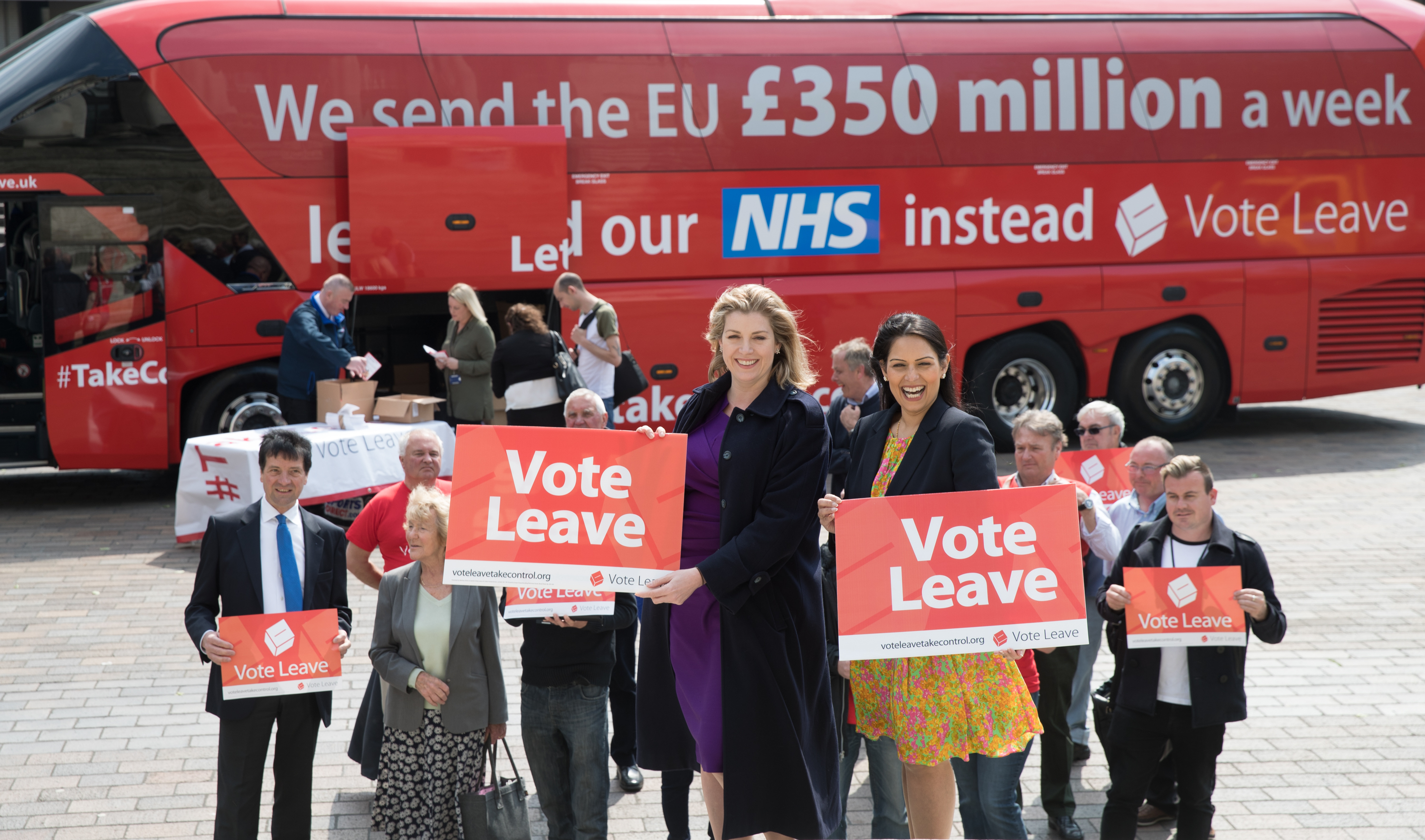 Vote Leave was the main group that campaigned for Brexit.