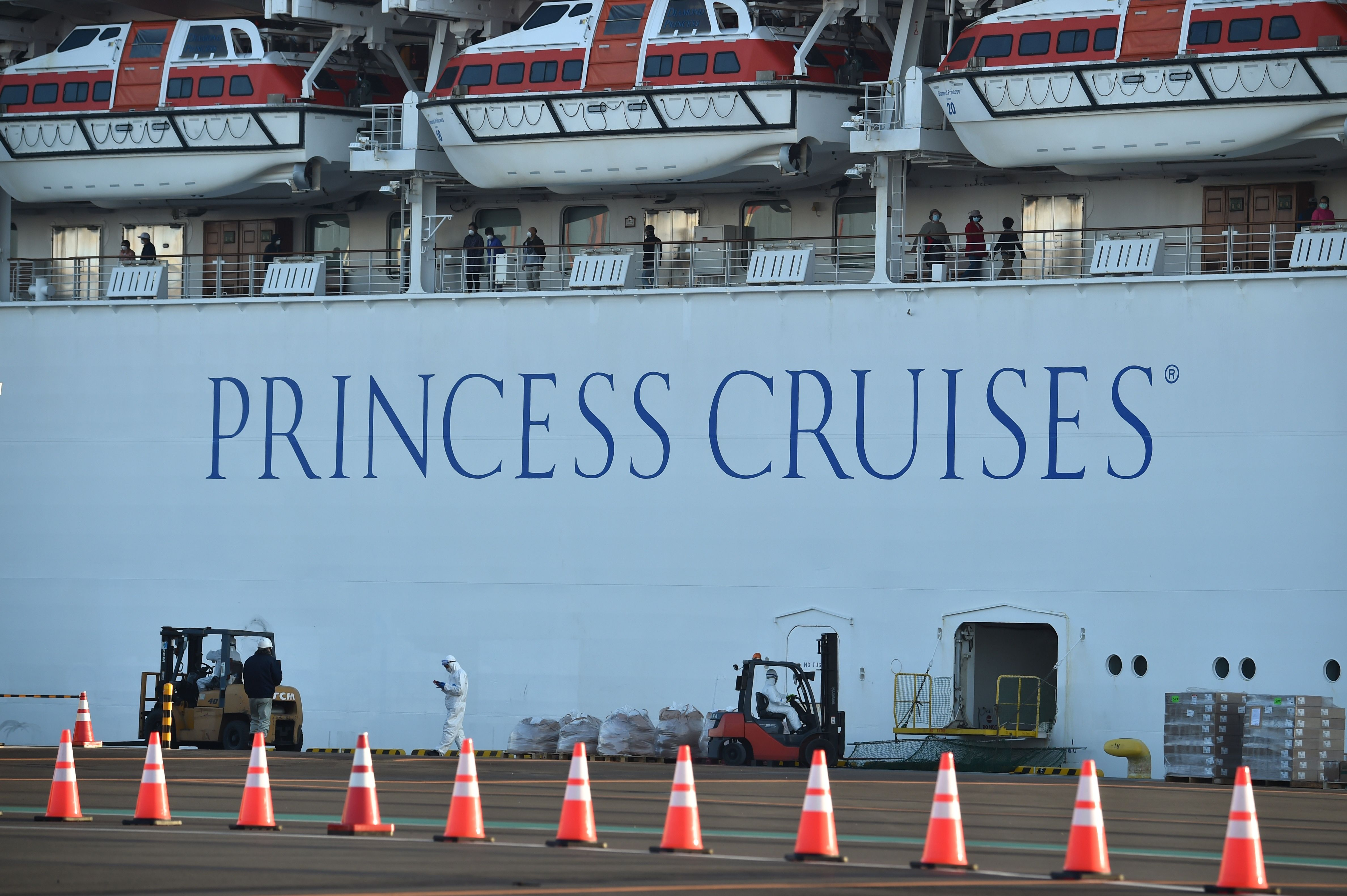 The US will evacuate Americans from Diamond Princess cruise ship docked in Japan