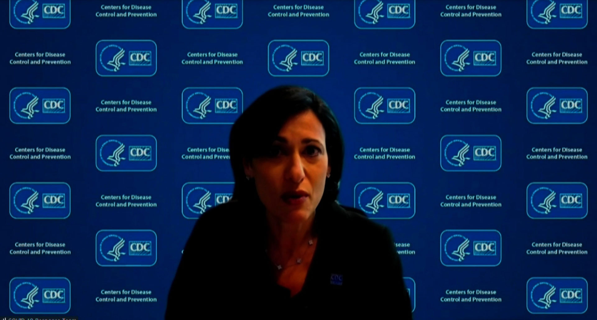 CDC Director Dr. Rochelle Walensky on January 27.