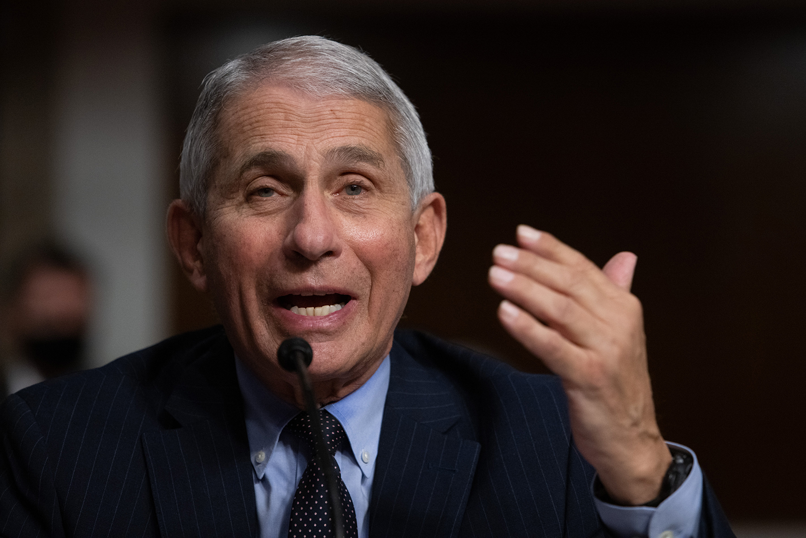 National Institute of Allergy and Infectious Diseases Director Anthony Fauci on September 23.