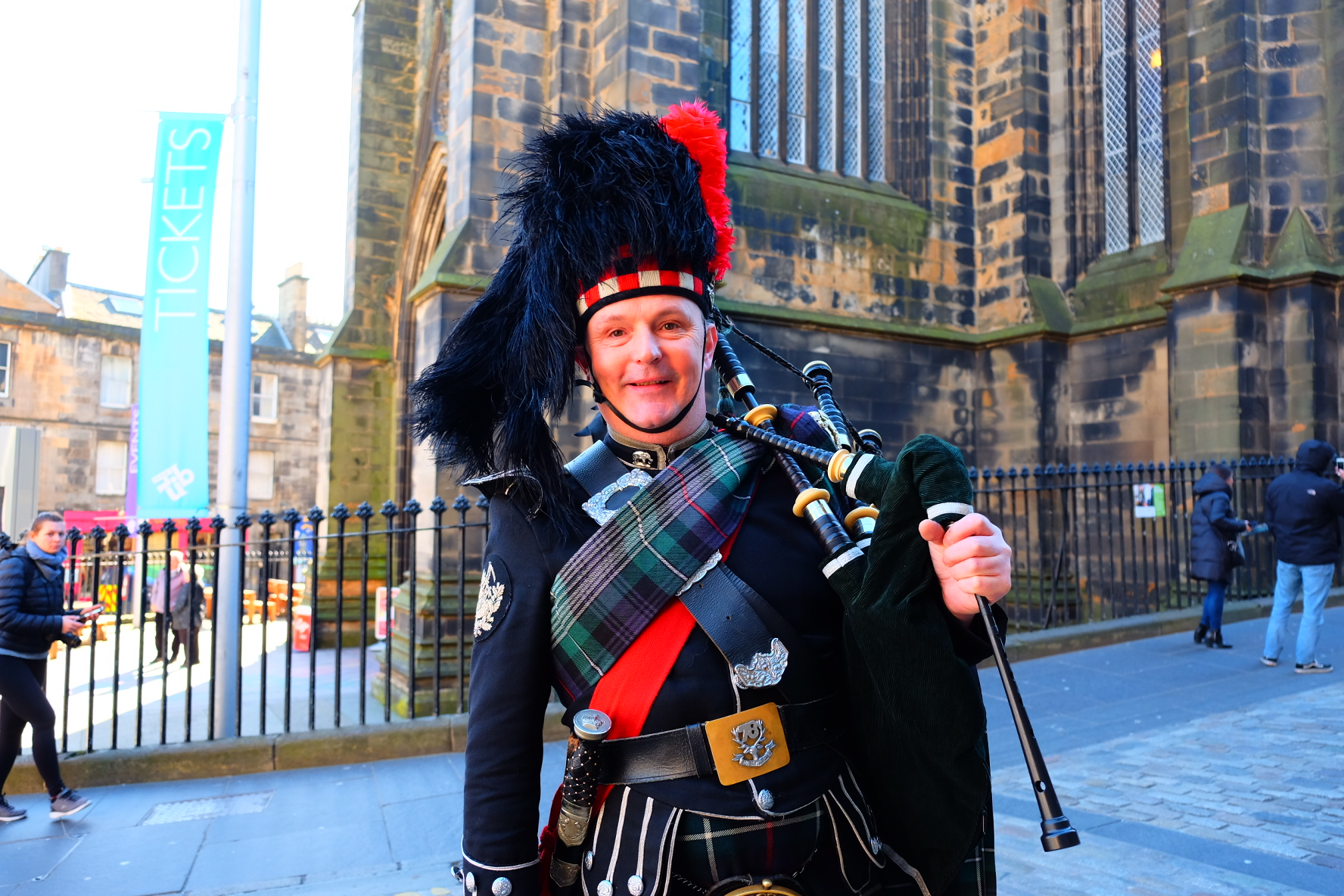 50-year-old building surveyor and part-time piper Angus Mackenzie.