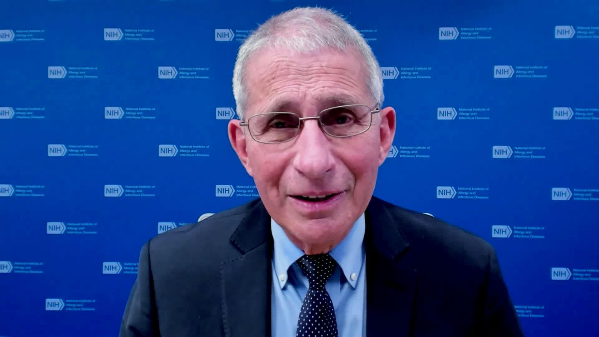 Dr. Anthony Fauci speaks with CNN on Thursday, December 24.