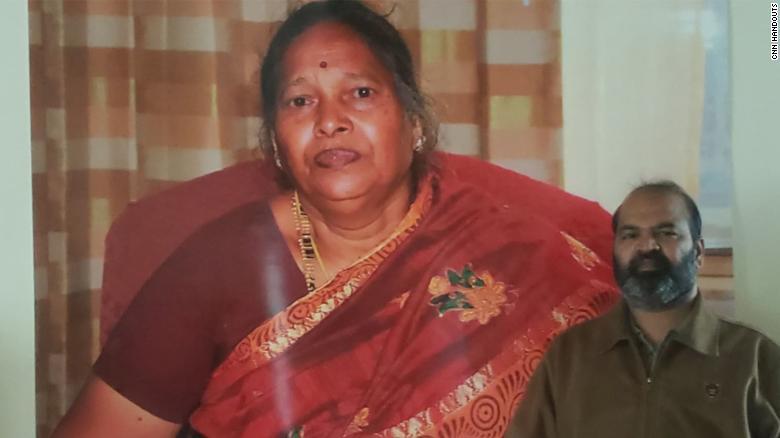 Sureshbabu Muthupandi lost his mother on April 1, 2020.
