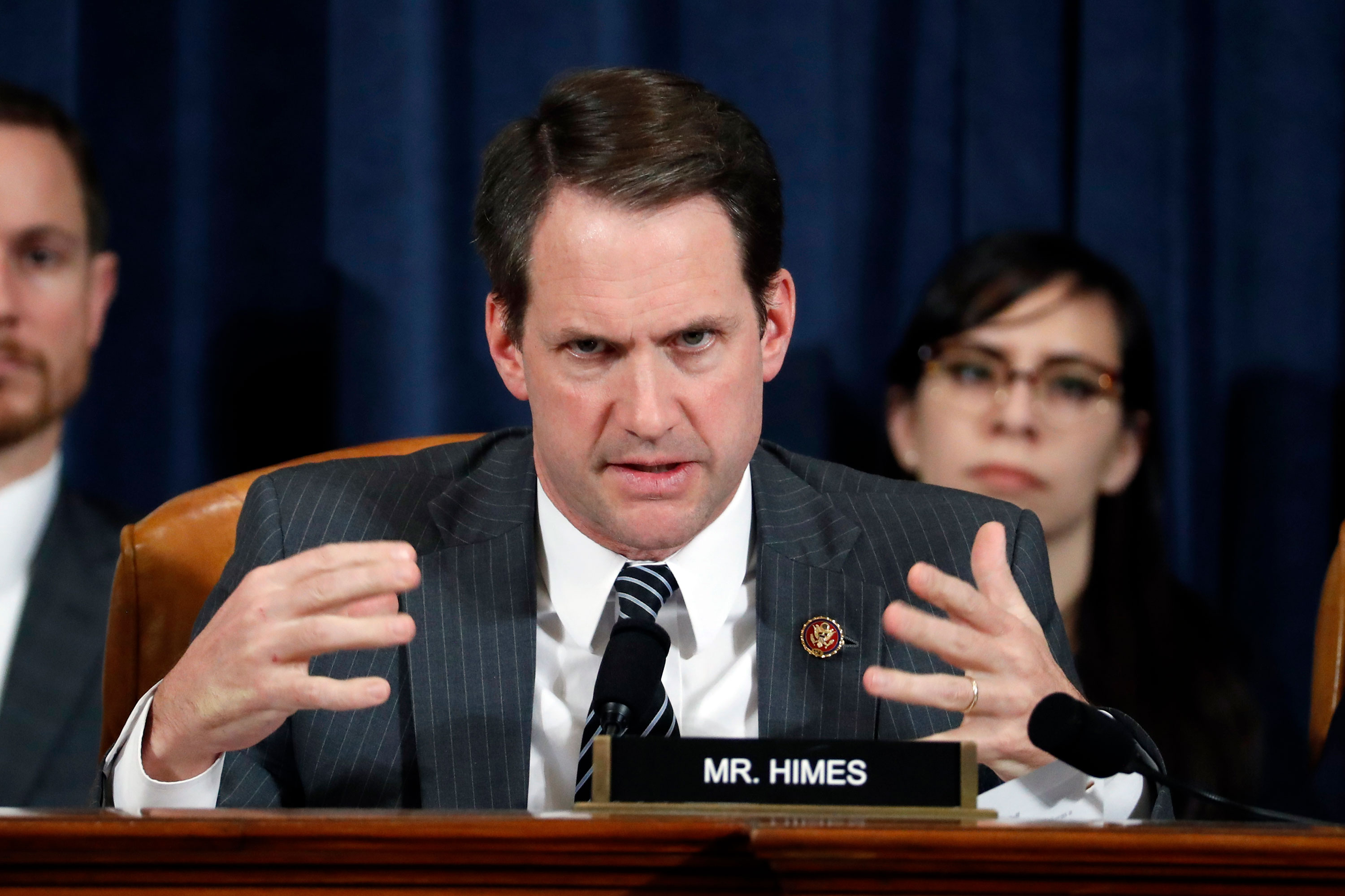 Rep. Jim Himes at a House Intelligence Committee hearing in November 2019.