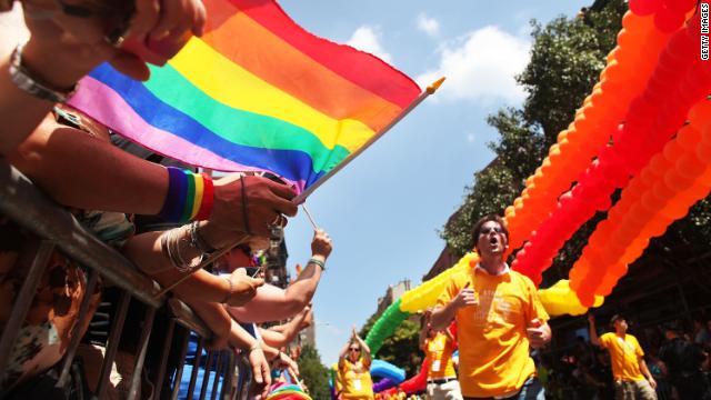 NYC Gay Parade Marks 50th Anniversary of Stonewall Inn Police Raid