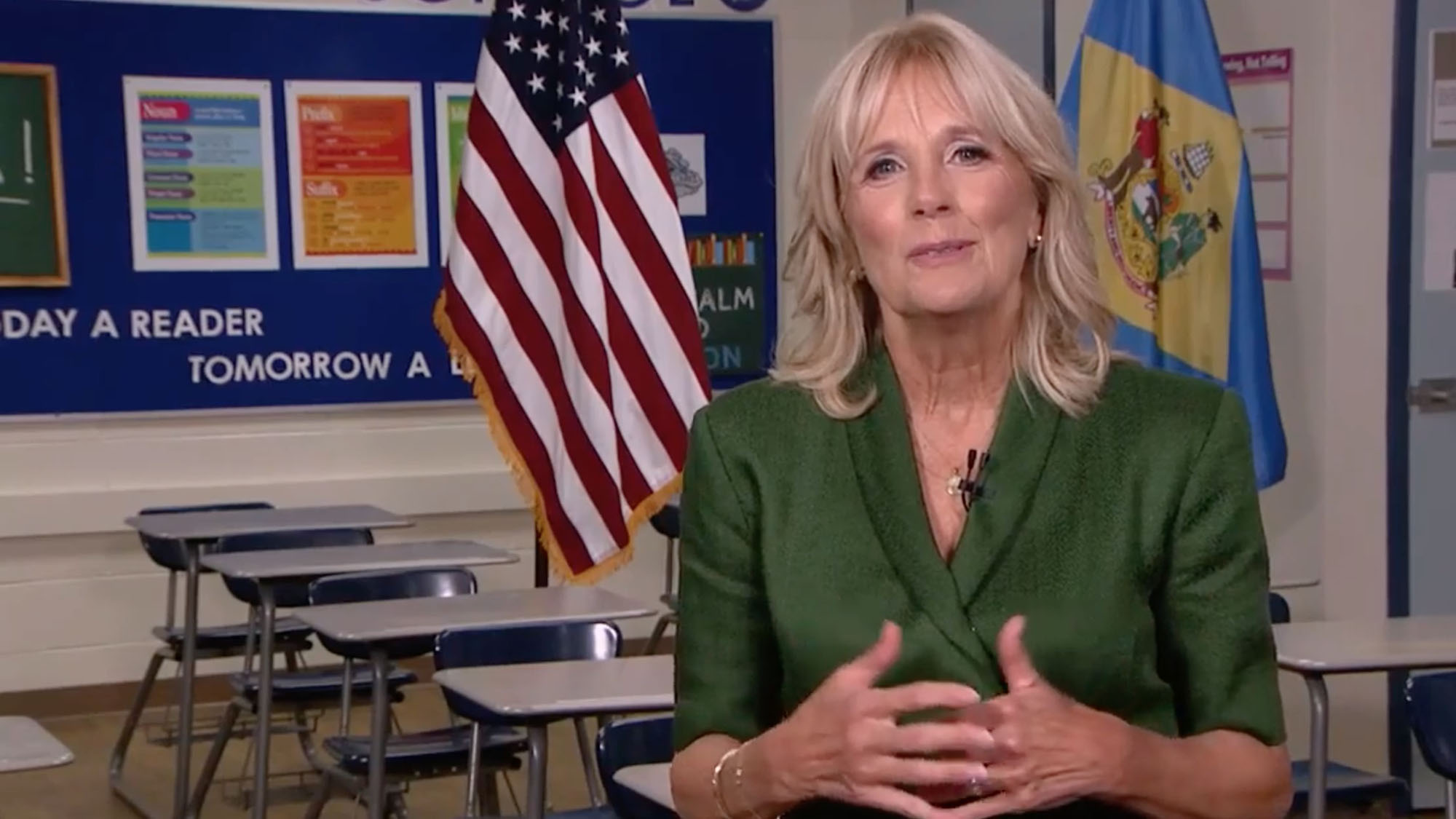 Former Second Lady Jill Biden.