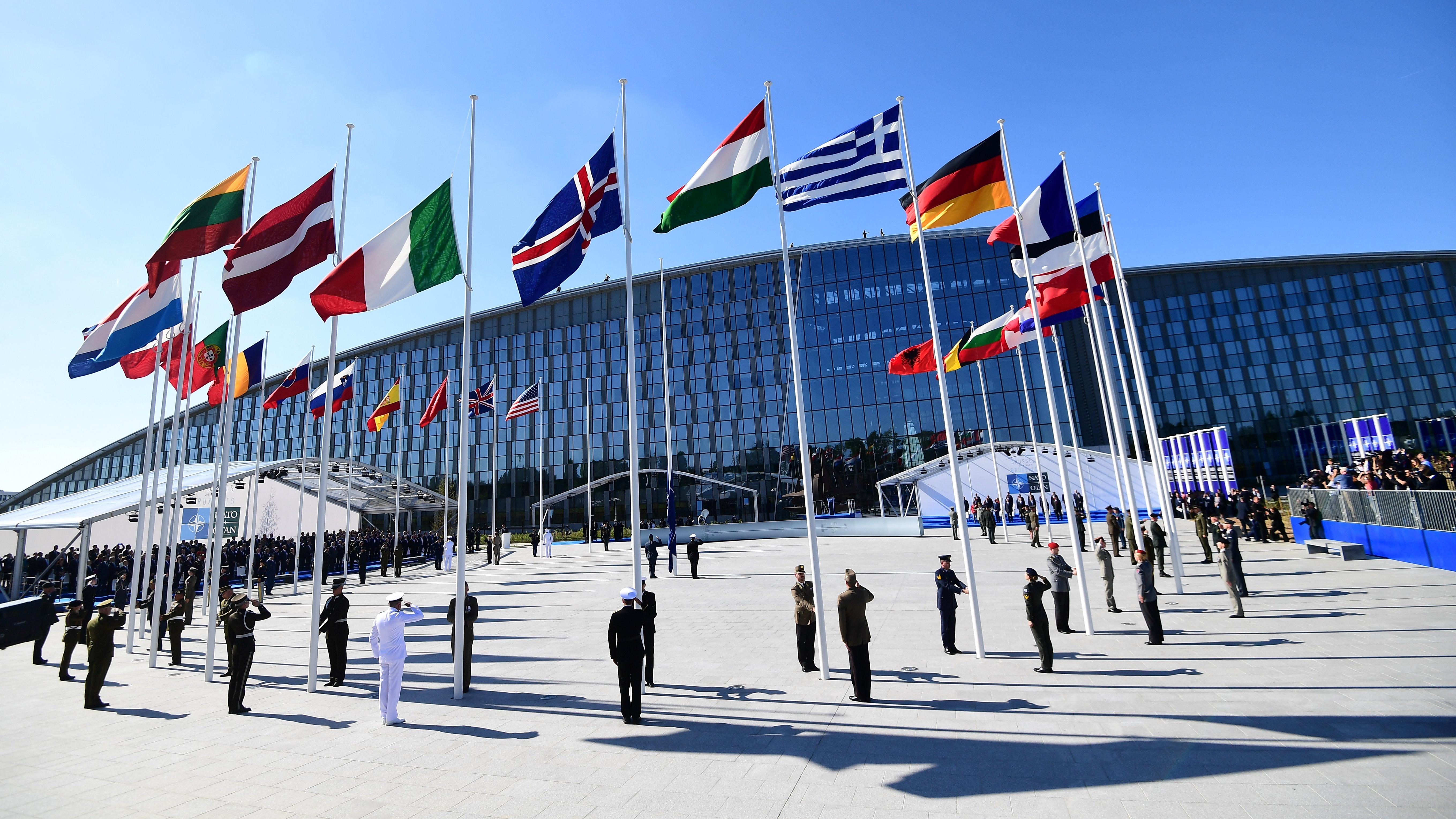 (File photo) NATO headquarters