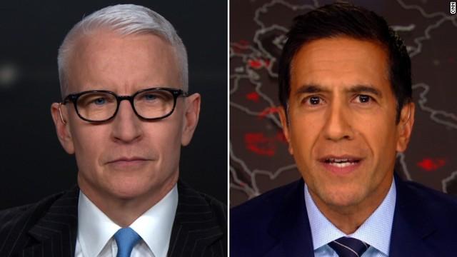 CNN's Anderson Cooper and Dr. Sanjay Gupta