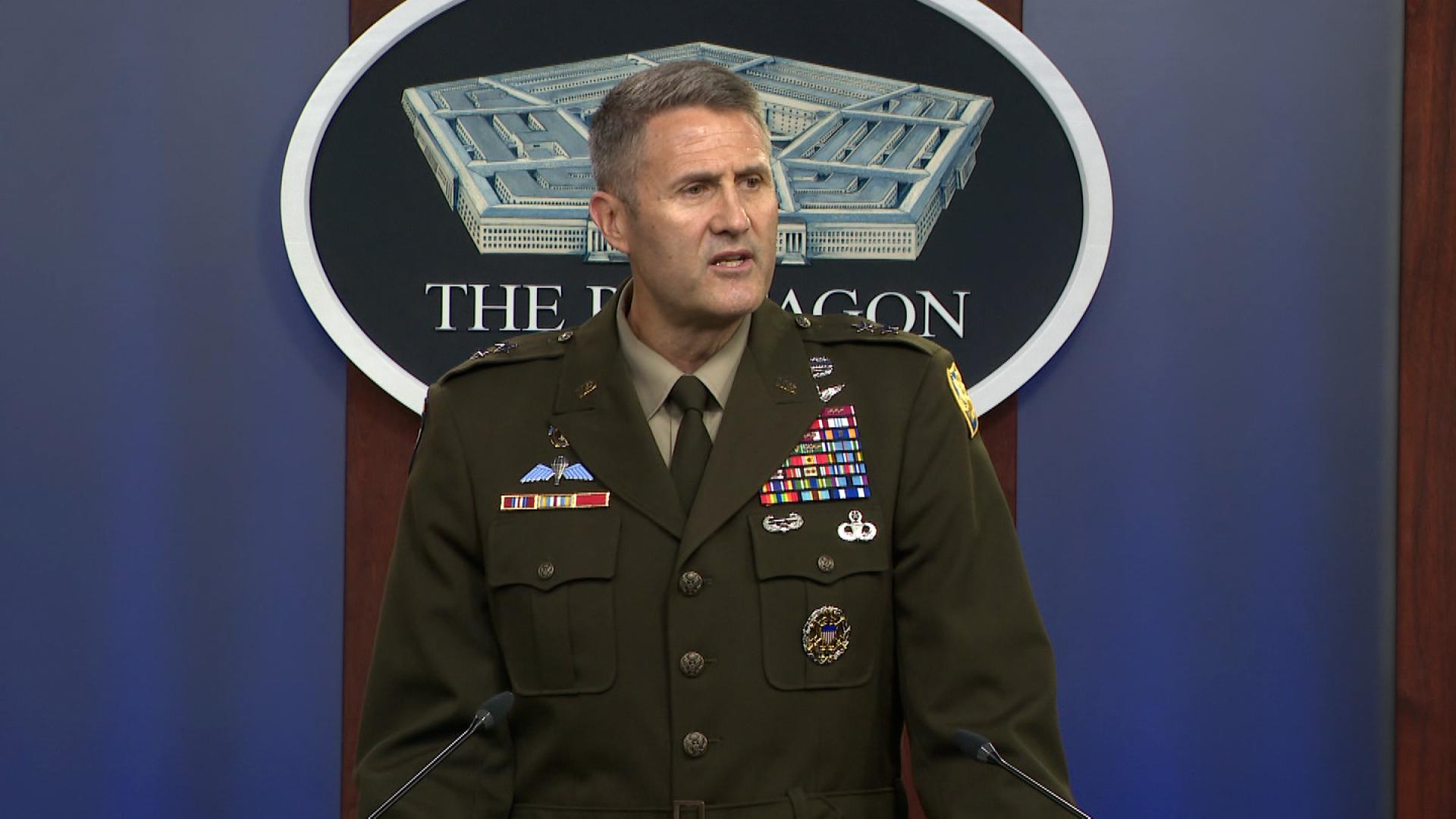 """Army Maj. Gen. William """"Hank"""" Taylor."""