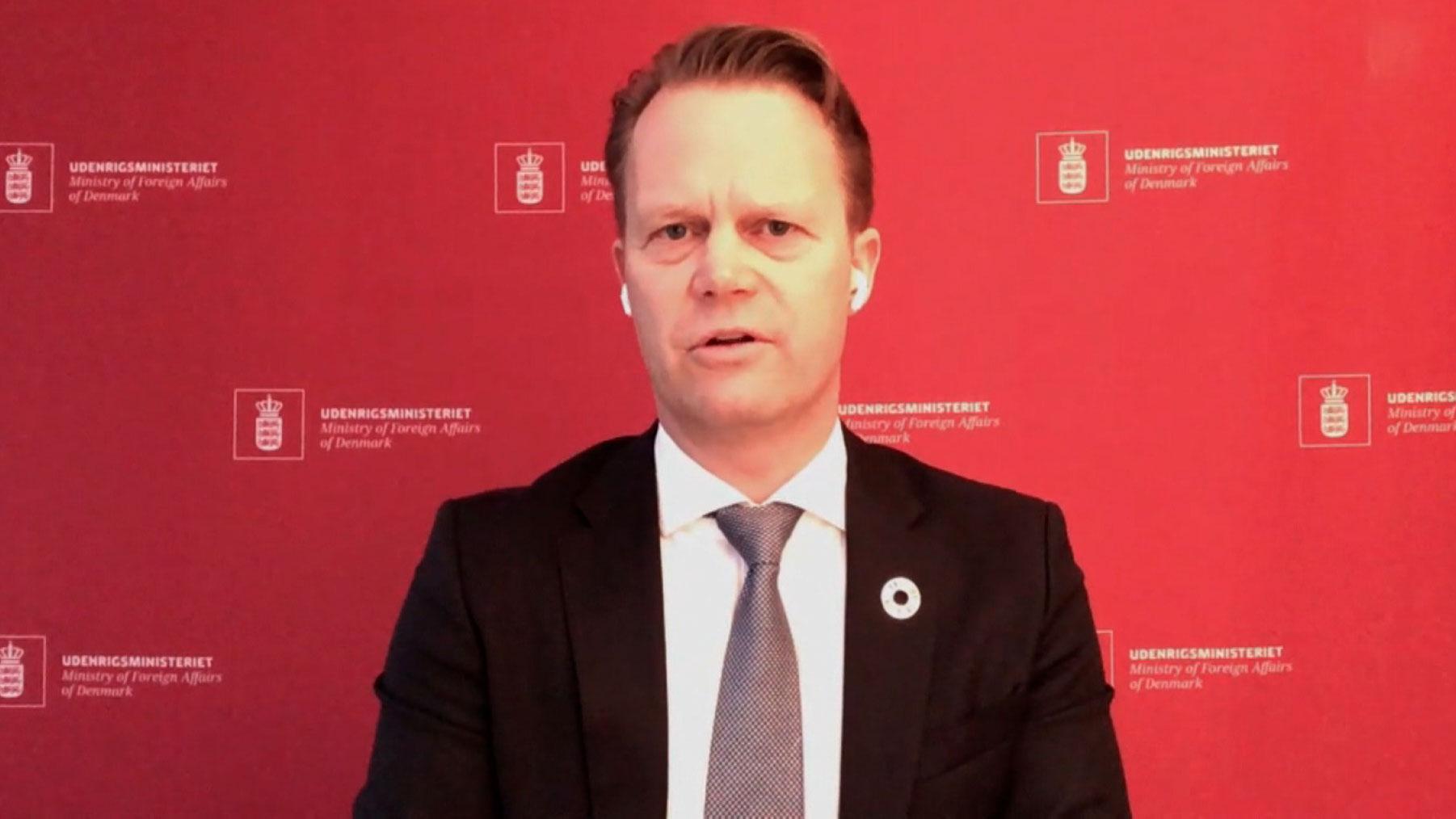 Jeppe Kofod, Denmark's foreign minister, spoke to CNN's Becky Anderson on Thursday.
