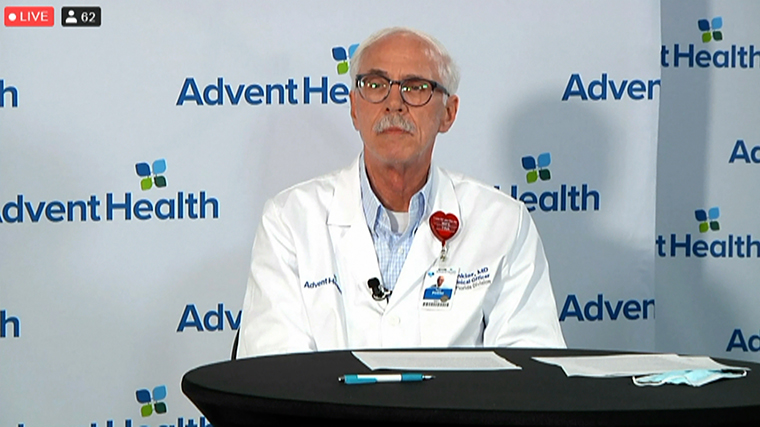 AdventHealthCentral Florida Chief Clinical Officer Dr. Neil Finkler